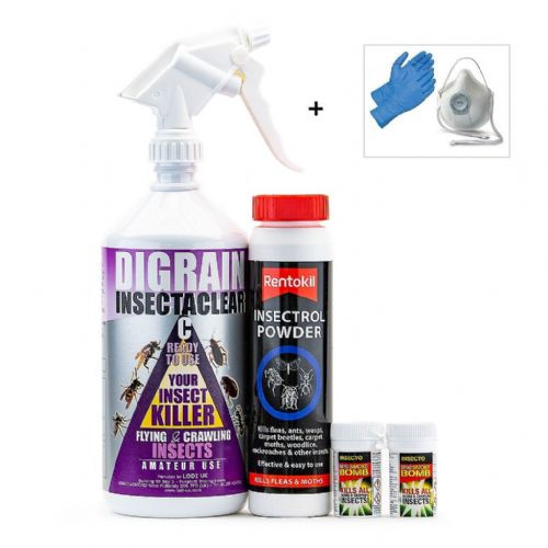 Carpet Moth Kill and Control Treatment Kit 1